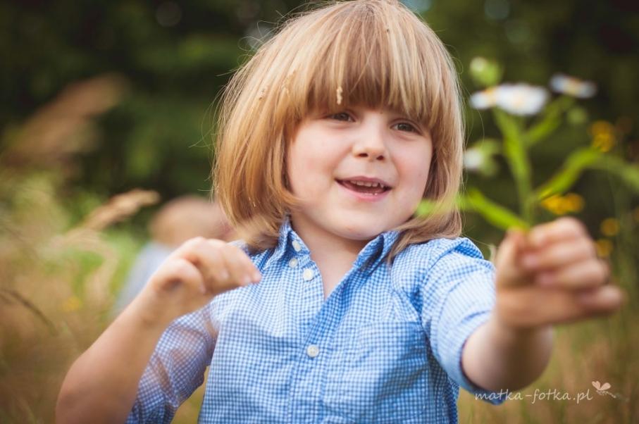 fotografia dziecięca, sesja plenerowa