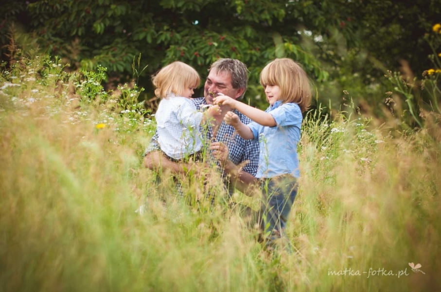 fotografia rodzinna, sesja plenerowa